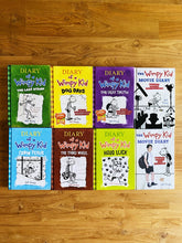 Load image into Gallery viewer, #1- Diary Of A Wimpy Kid (Paperback) by Jeff Kinney