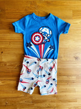 Load image into Gallery viewer, Gap Marvel Captain America PJ Set | 5y *NEW!*
