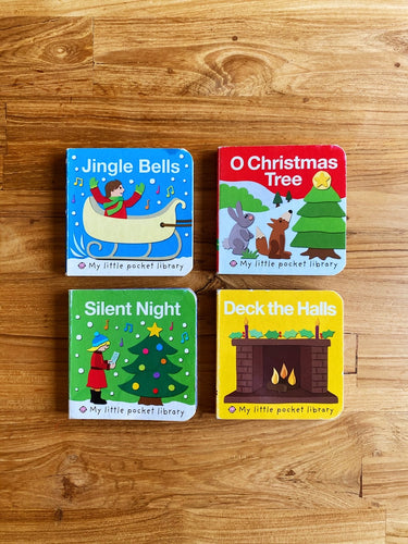 My Little Pocket Library Christmas (Set of 4)