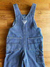 Load image into Gallery viewer, OshKosh Hictory Stripe Overalls | 18m