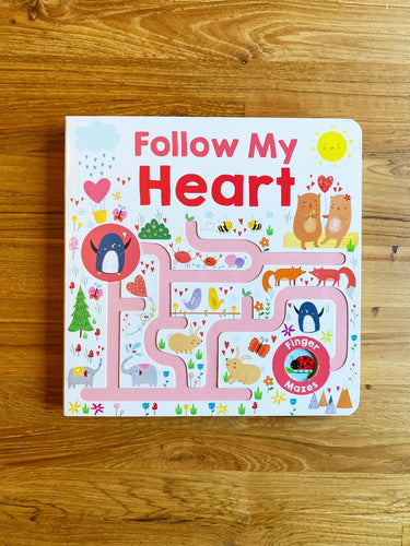 Maze Book: Follow My Heart by Roger Priddy