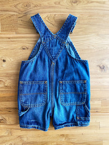 Gap Baby Denim Shortalls | 0-3m