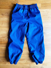 Load image into Gallery viewer, Royal Blue Lined Rain Pants | 2y & 4-5y