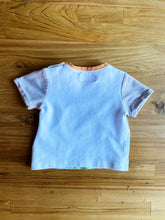 Load image into Gallery viewer, Mayoral Baby Orange & White T-Shirt | NB
