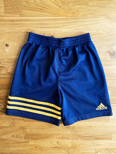 Adidas Pull On Navy Mesh Shorts | 4y