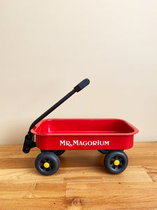 Vintage Mr. Magorium's Official Red Wagon | *Rare Item*