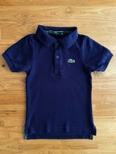 Load image into Gallery viewer, Lacoste Boys' Classic Piqué Polo (Navy Blue) | 3y