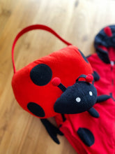 Load image into Gallery viewer, Carter's Little Ladybug Costume With Plush Halloween Treat Bag | 2y