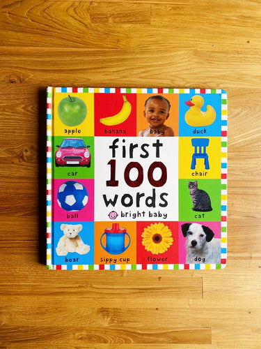 Big Board Books: First 100 Words