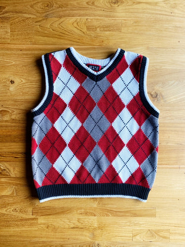 The Children's Place V-Neck Sweater Vest | 4y