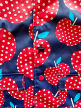 Load image into Gallery viewer, Hatley Polka Dots Apple Raincoat | 4y *REPAIRED*