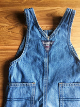 Load image into Gallery viewer, OshKosh B'Gosh Denim Overalls- Light Blue Wash | 12m