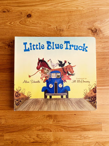 Little Blue Truck (Lap Board Book) by Alice Schertle & Jill McElmurry