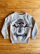 Load image into Gallery viewer, Next Snowman Skateboard Crew Neck Sweater | 6y