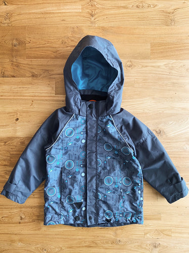 H&M Water-Repellent Jacket | 2-3y *REPAIRED*