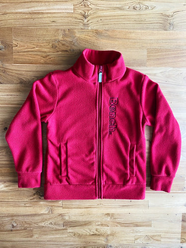 Bench Red Fleece Jacket | 7-8y & 11-12y