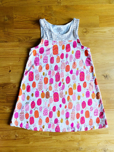 Hatley Girls' Swim Dress Tropical Pineapples Coverup | 8y