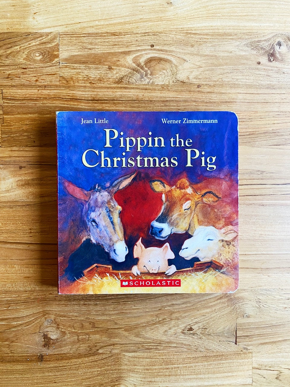 Pippin The Christmas Pig by Jean Little & Werner Zimmermann