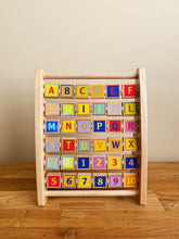 Load image into Gallery viewer, Hape Alphabet Abacus