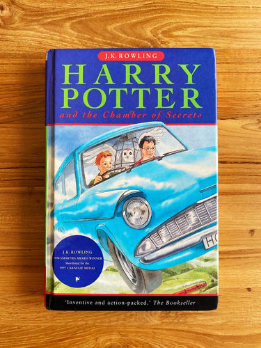 Vintage 1999 Harry Potter And The Chamber Of Secrets by J.K. Rowling