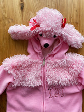 Load image into Gallery viewer, Toddler Pink Poodle Costume With Red Bows | 18-24m