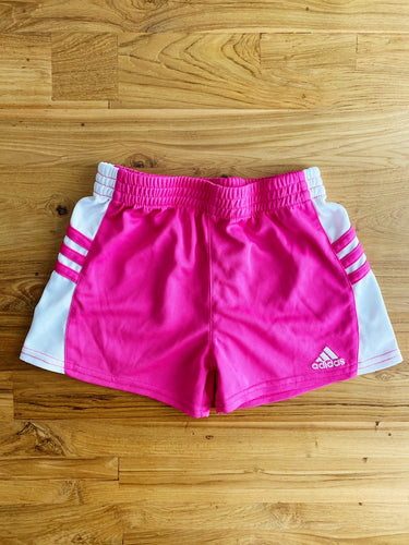 Adidas Girls' 4-6X Pink Mesh Shorts | 6y
