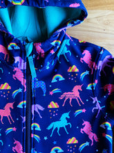 Load image into Gallery viewer, Mountain Warehouse Exodus Kids Printed Water Resistant Softshell (Unicorn) | 11-12y