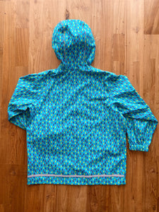 MEC Heritage Reflective Rain Jacket- Children (Raindrops) | 6y