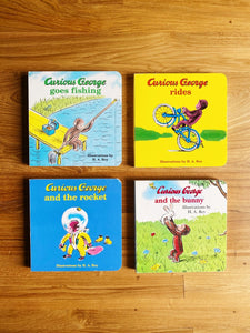 Curious George Rides by Margret Rey & H.A. Rey