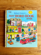 Load image into Gallery viewer, Richard Scarry's Best Word Book Ever