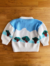 Load image into Gallery viewer, Vintage Hand Knit Snow Bunny Sweater | 3y