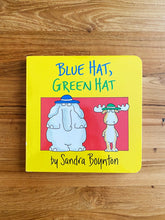 Load image into Gallery viewer, Blue Hat, Green Hat by Sandra Boynton
