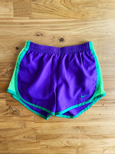 Nike Girls' 4-6X Purple Tempo Shorts | 6y