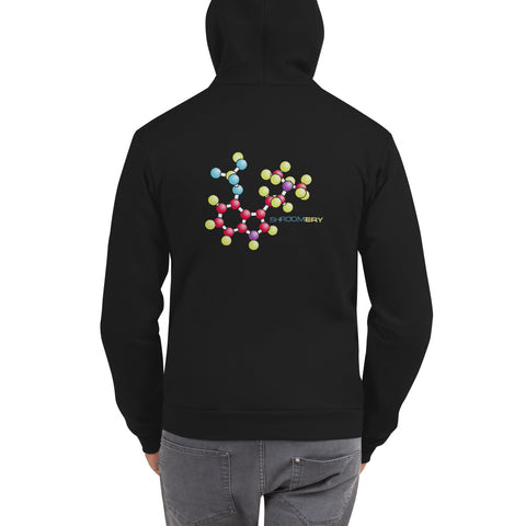 Zippered Psilocybin Molecule