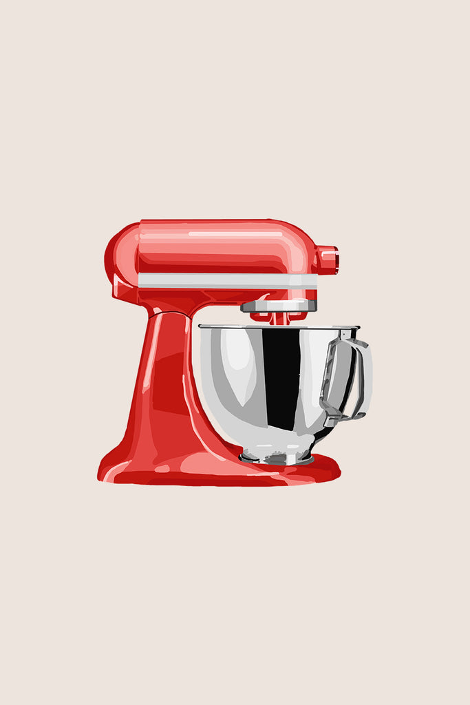 Red Kitchen Mixer