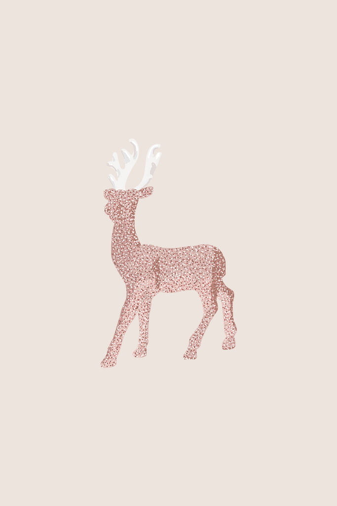 Rose Gold Deer