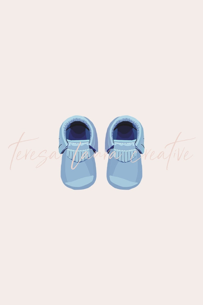 Baby Shoes (Blue)