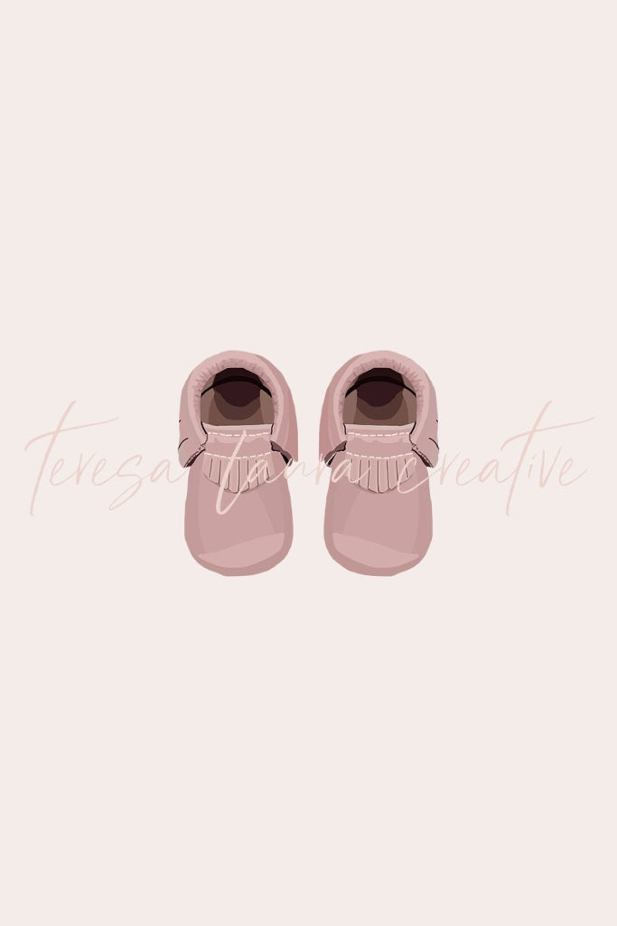 Baby Shoes (Pink)