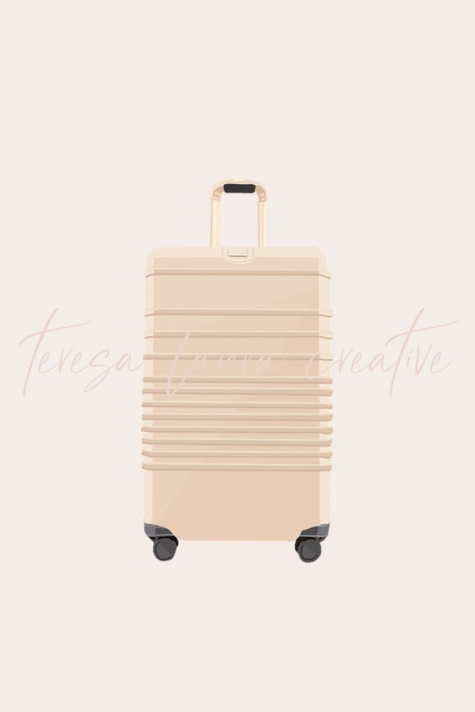 Beige Luggage