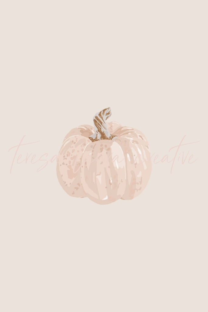 Blush Pumpkin