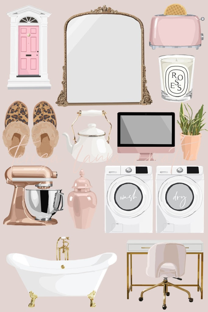 Home Decor Instagram Sticker Pack