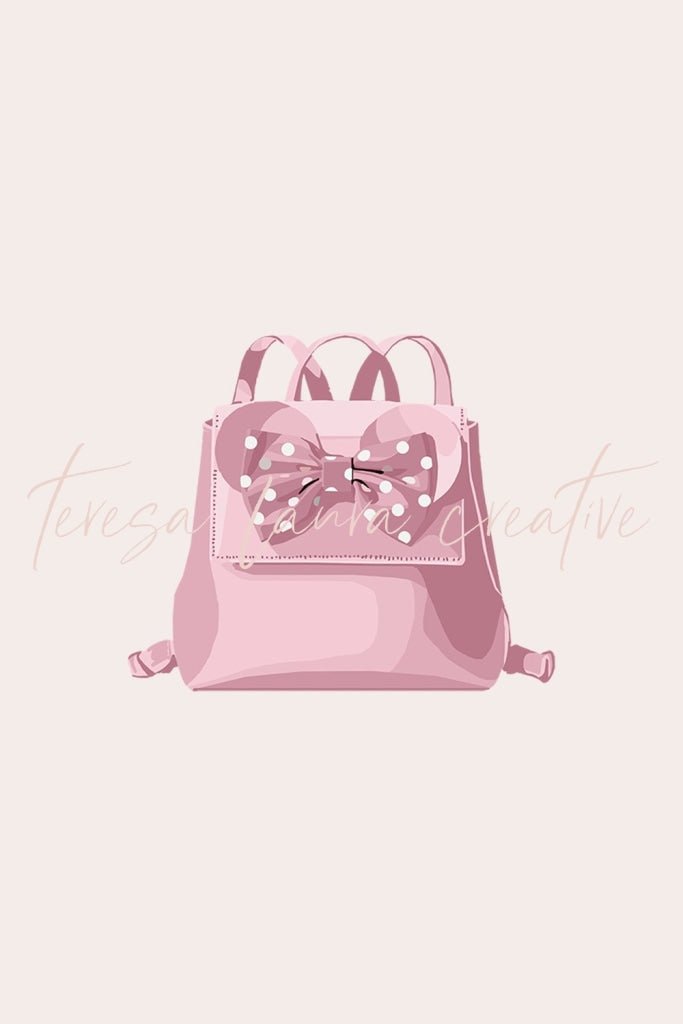 Pink Park Backpack