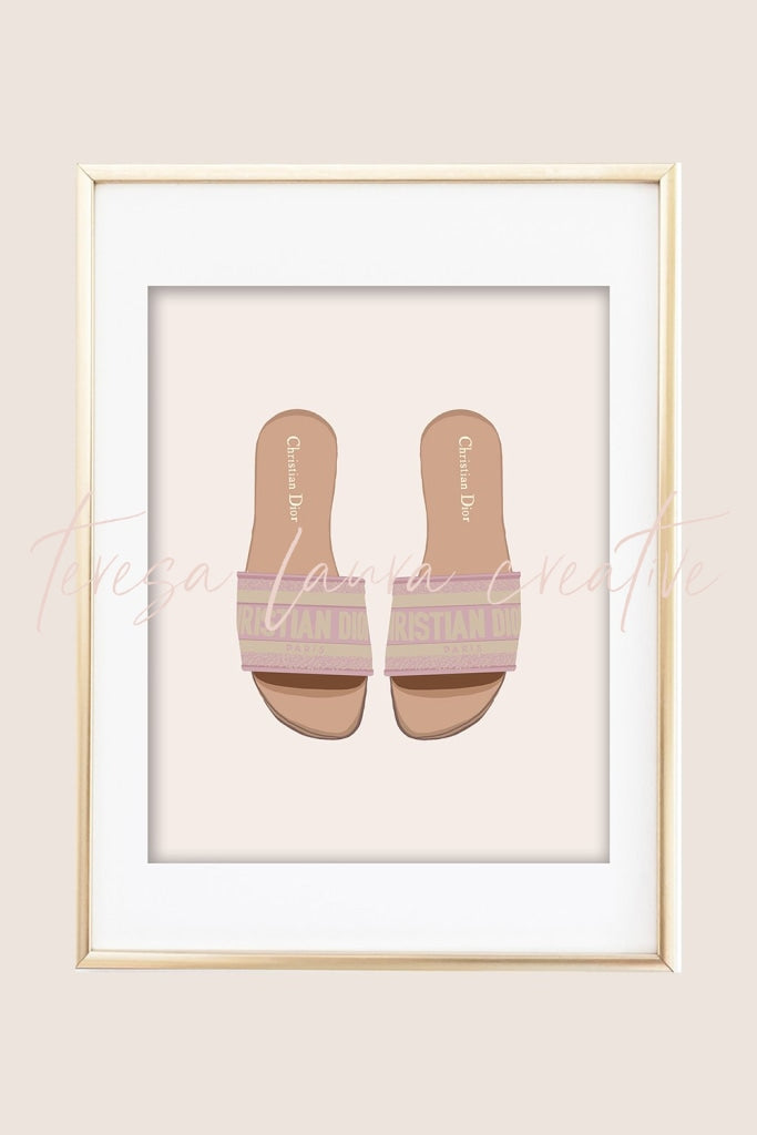 Pretty Shoes 04 Illustrated Art Print