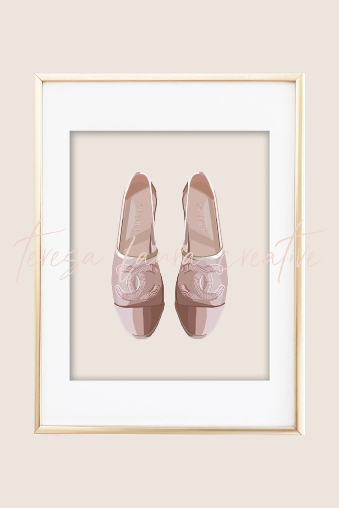 Pretty Shoes 06 Illustrated Art Print