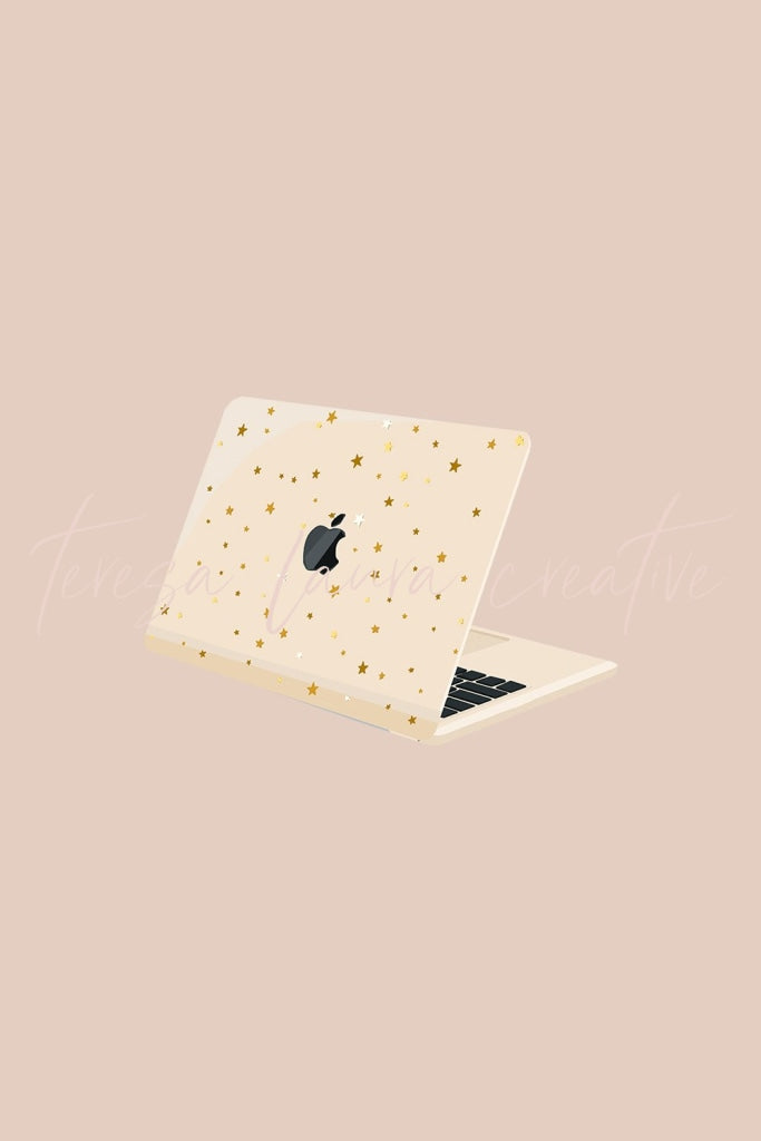 Star Print Laptop