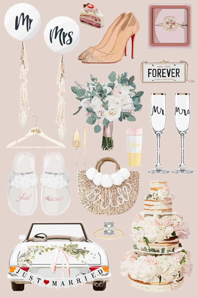 Wedding Sticker Pack