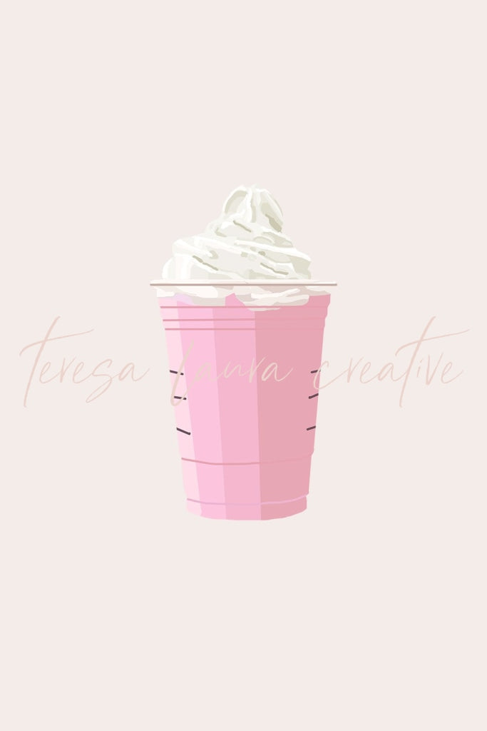 Whipped Pink Coffee