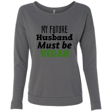 Load image into Gallery viewer, Husband Qualifications Ladies Long Sleeve