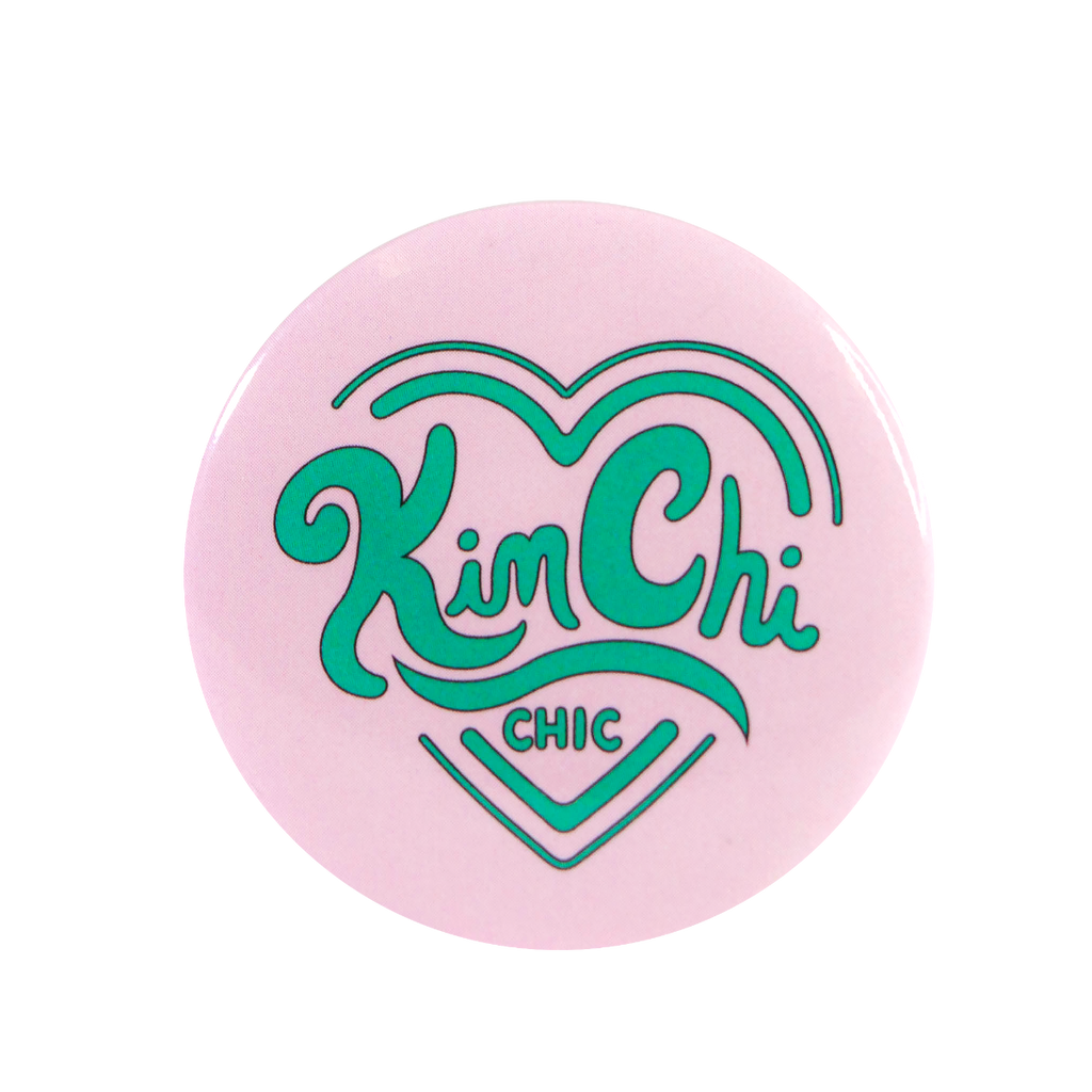 KimChi Chic Beauty Button - Baby Pink 35mm