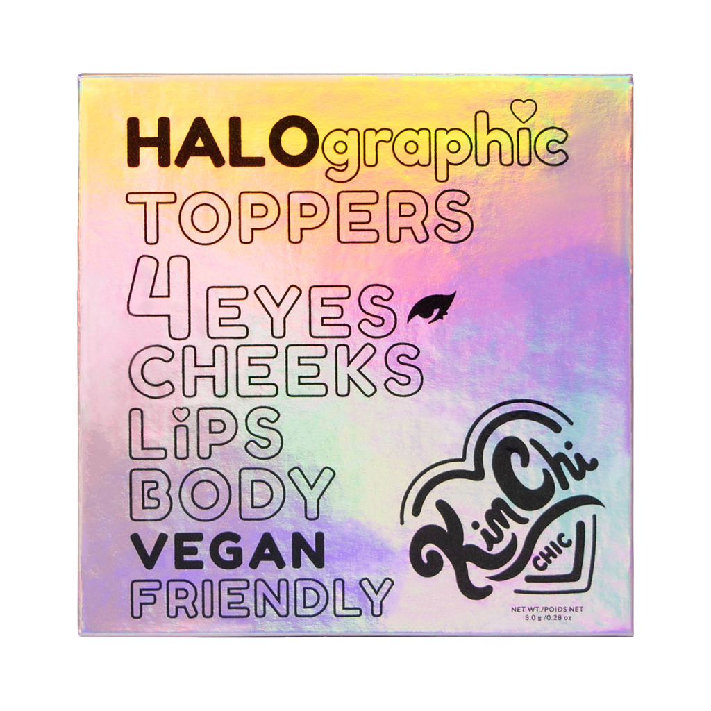 Halographic Toppers Packaging